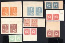 Georgia 1919 pair stamps Lapin#1-9 MH CV=6€ lot2