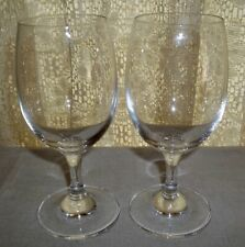 Two ZWIESEL GLAS Wine Glasses 6""