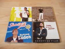 4 Single CD Set Sandro de Ville: Ewige Sonne Richtung Süden Die Frau, die mit de
