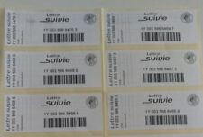 Lot de 10  étiquettes de suivi pour lettre suivie la poste sans les timbres