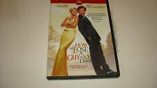 How to Lose a Guy in 10 Days DVD Kate Hudson Matthew McConaughey FullScreen 2003