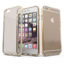 Apple iPhone 6 & iPhone 6S clear case by Koko Cases [Harvey] Champagne Gold