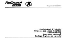 CATALOGO RICAMBI TRATTORE FIAT DA 215 A 1880 SPARE PARTS FIAT TRACTOR CATALOGUE