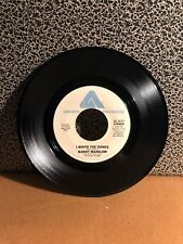 "1975 BARRY MANILOW 45RPM 7"" Single Arista Records ""I Write The Songs"" (J134)"