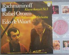 RACHMANINOV - Piano Concerto No. 3 OROZCO DE WAART Philips Holland LP EX