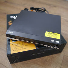 BUSH Compact Black DVD Player with SCART and USB Photo Playback (ASV)