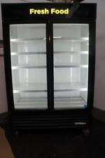 True 2 Glass Door Cooler Merchandiser for soda beer produce deli meat and cheese