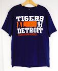DETROIT TIGERS LOGO T-Shirt Tee American League Official MLB Merchandise LARGE