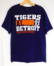 DETROIT TIGERS LOGO T-Shirt Tee American League Official MLB Merchandise LARGE