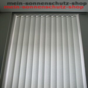 LAMELLENVORHANG * Lamellenvorhänge * komplett * Massanfertigung * 16,- EUR / m²
