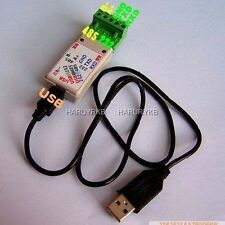 USB TO RS485 / USB TO RS232/ 232 TO 485 converter adapter Module LED Indicator