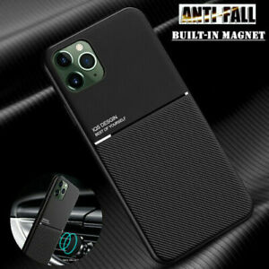 Slim Carbon Fiber Shockproof Thin Leather Case Cover For iPhone 11 12 Pro Max