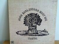 TRAFFIC          LP         JOHN   BARLEYCORN   MUST  DIE
