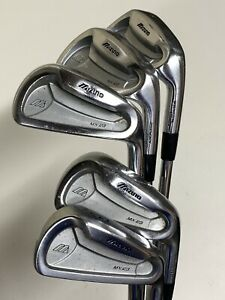 *Half Set Of 5 Mizuno MX-23 Irons 3,5,7,9,PW Stiff TTDG Lite S300 Steel Shafts*