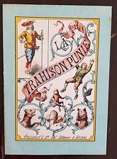 LA TRAHISON PUNIE. Livret IMAGERIE d' EPINAL PELLERIN - SERIE A. vers 1900