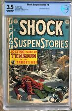 Shock SuspenStories #3 (1952) CBCS 3.5 -- Decapitation splash page; Like CGC