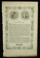 Gravur Originell Xvii Jhd. 1679 Abschaffung Des Duel By Louis XIV Medalie Justiz