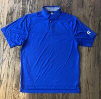 FootJoy FJ Mens Short Sleeve Polo Golf Shirt Size Medium