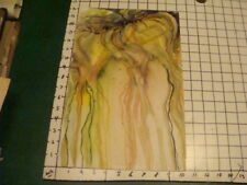 original watercolor: ABSTRACT ONION I think, unsigned and not dated