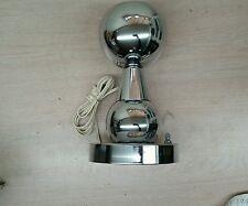 VTG CHROME EAMES MID CENTURY EYE BALL EYEBALL FLOOR DESK TABLE LIGHT LAMP