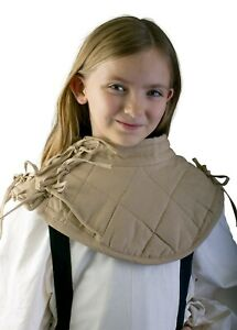 Medieval Padded Collar cotton Gambeson theater costume Reenactment