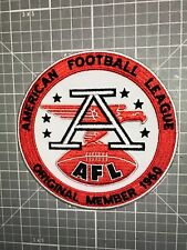 """OAKLAND RAIDERS JERSEY PATCH AFL """"ORIGINAL MEMBER 1960"""" SEW OR IRON ON NEW!"""