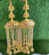 Rajwadi Wedding Chura Dulhan Bollywood Set Bangle Bridal Set Pearl Jhumka Kalire