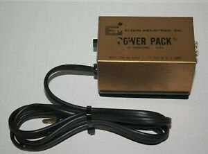 Eldon HO 1/32 Scale Slot Car Transformer Power Pack 3310 Working Condition