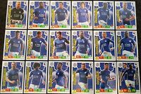 2019/20 PANINI English Premier League Soccer Cards - Leicester Full Team Set