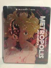 Osamu Tezuka's Metropolis steelbook release / NEW anime on DVD & Blu-ray