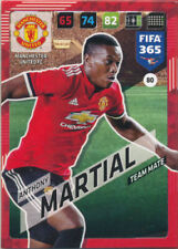 Panini Adrenalyn XL FIFA 365 2018 #80 Anthony Martial Manchester United