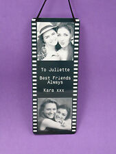 Photo Plaque Frame Metal Dad Fathers Day Gft with your photos words of choice