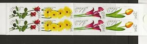 ICELAND Sc 1042a NH issue of 2005 - BOOKLET - FLOWERS