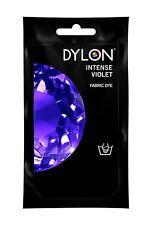 Intense Violet DYLON Hand Wash Fabric Clothes Dye 50g Textile Permanent Colour