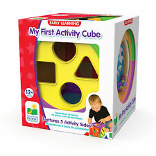 5 in 1 Activity Cube Kids Toys Baby Educational Interactive Shape Sorter colorfu