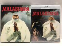 NEW MALABIMBA BLU RAY 2 DISC SET + LIMITED EDITION SLIPCOVER VINEGAR SYNDROME