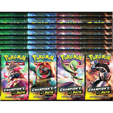 "Pokemon Champion's Path ""Box"" - 36 Booster Pack Lot IN-HAND READY TO SHIP Cards"