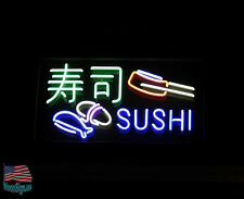 "Sushi Store Restaurant Neon Sign 17""X14"" From USA"