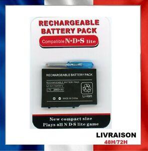 Batterie pour Nintendo DS Lite, 2000 mah avec tournevis Battery NDS