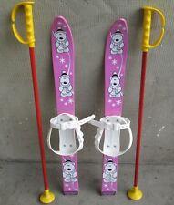 Kinderski Babyski Lernski 70cm für Kinder in Fabe Rosa