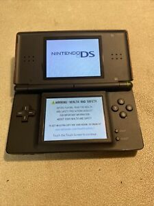 Nintendo DS Lite Red Handheld System. Fully TESTED. No charger GBA Cover stylus.