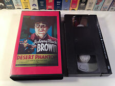 Desert Phantom Rare Sinister Cinema B-Western VHS 1936 OOP HTF Johnny Mack Brown