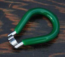 """Bicycle Spoke Wrench TOOL Green .130"""" 14GNipple Cruiser Fixie Bike BMX MTB Wheel"""
