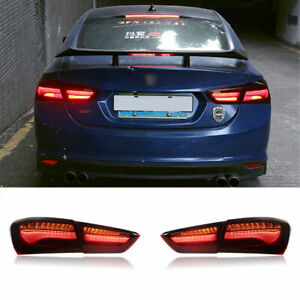 LED Taillights Assembly For Chevrolet Malibu 16-21 Red Replace OEM Rear lights