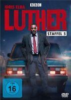 LUTHER-STAFFEL 5 (DVD) - ELBA,IDRIS/WILSON,RUTH   DVD NEUF