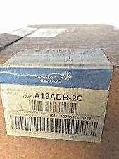 Line Volt Mechanical Thermostat, Temperature Switch, Johnson Controls A19Adb-2C