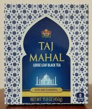 2 PACK Brooke Bond Taj Mahal Tea 100% Original  Black Loose Tea Leaf 15.8OZ EACH