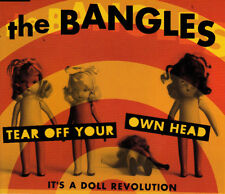 THE BANGLES - TEAR OFF YOUR OWN HEAD (IT'S A DOLL REVOLUTION) CD SINGLE  3 TRACK