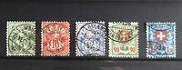 SWITZERLAND: Small Collection of Early Used Stamps