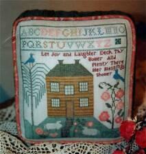 Ewe & Eye & Friends HOUSE ON HOLLYHOCK HILL Cross Stitch/Specialty Stitch Chart